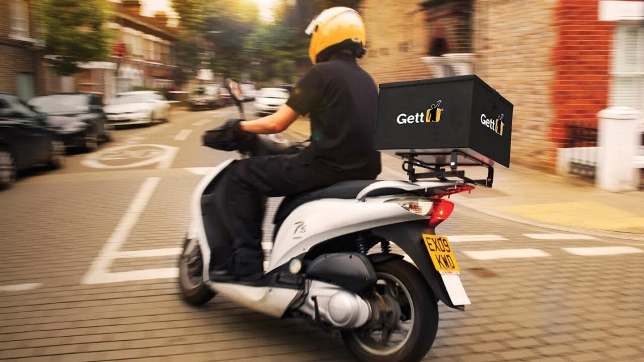 London taxi service Gett launches flat-fee courier options from £6