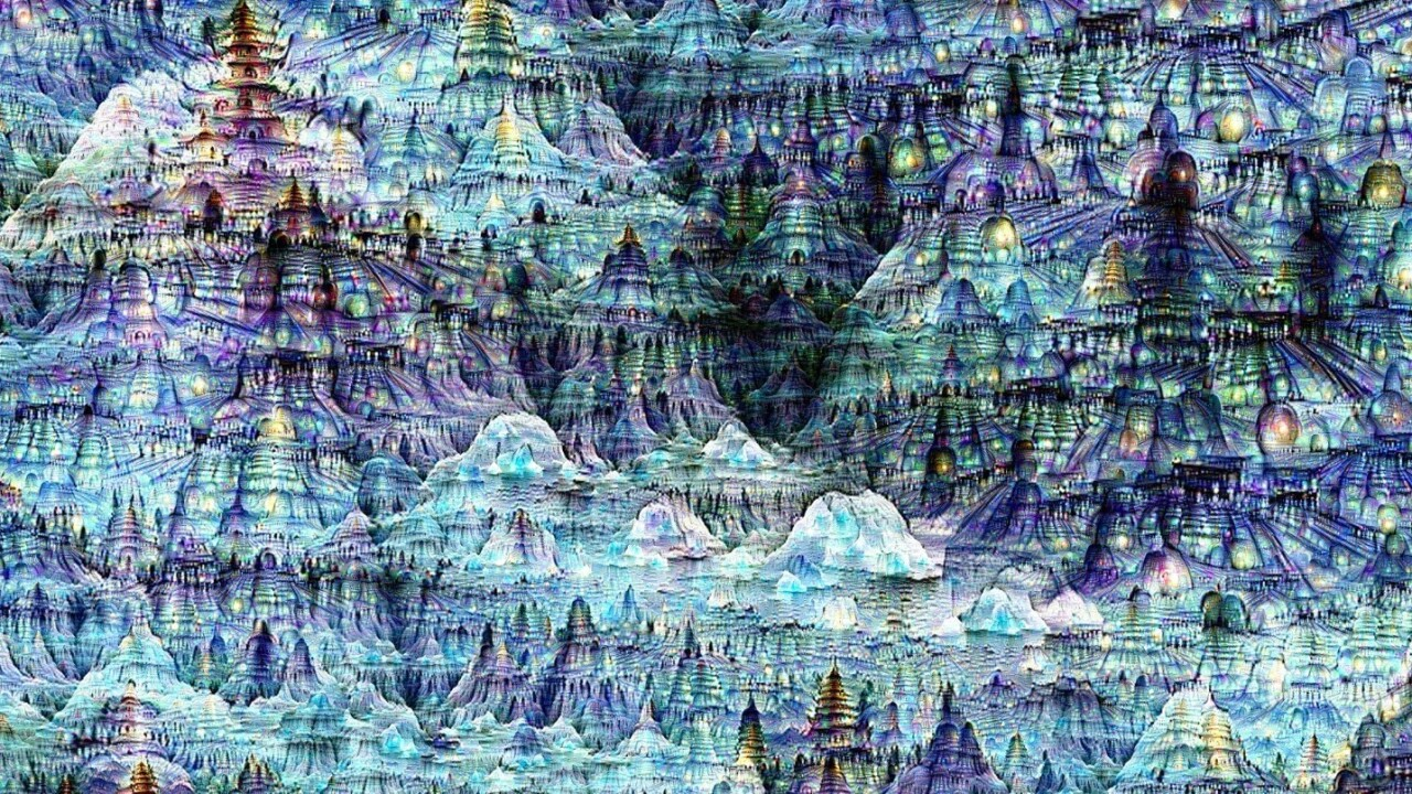 You can visit an art exhibit created with Google's neural networks in San Francisco this weekend