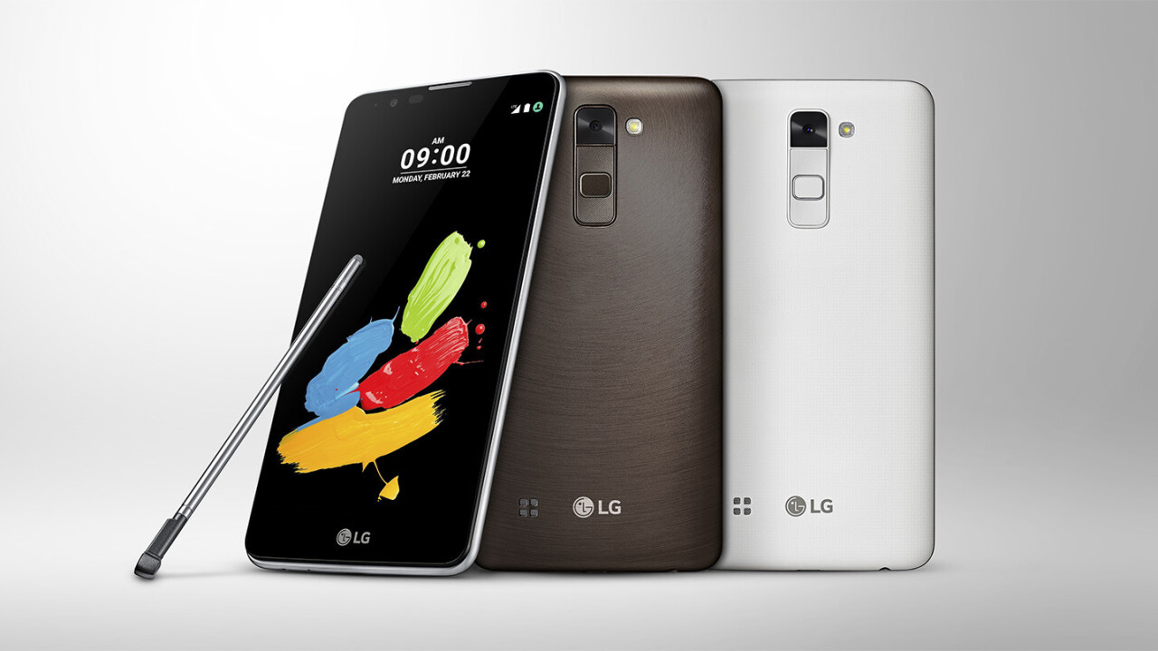 LG's next phone will alert you if you leave your stylus behind