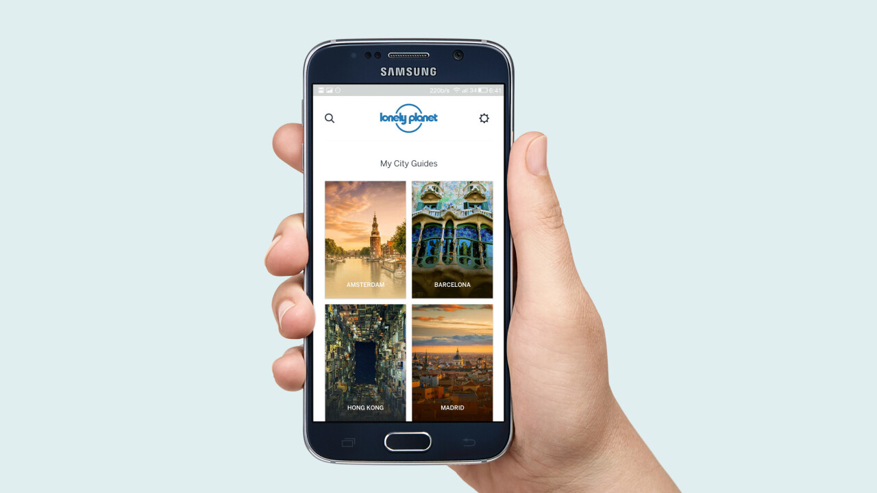 Lonely Planet's new mobile app helps you explore major cities like a pro