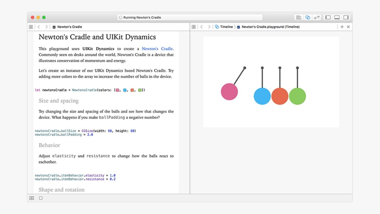 Xcode 7.3 beta build adds awesome new Interactive Playgrounds feature for Swift apps