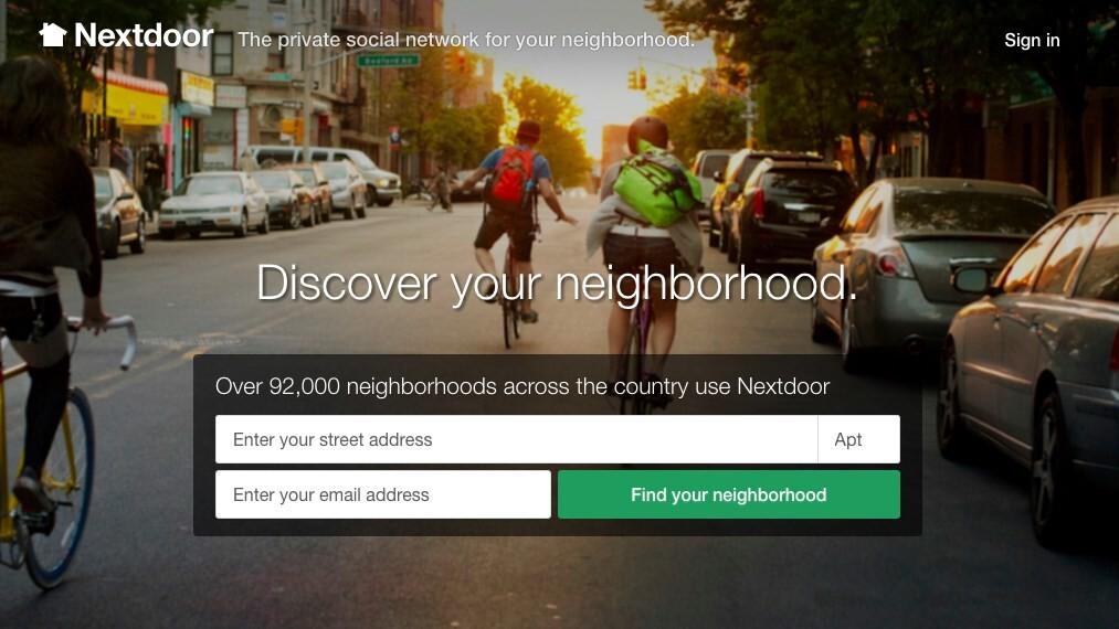 Neighborly social network Nextdoor launches in Europe