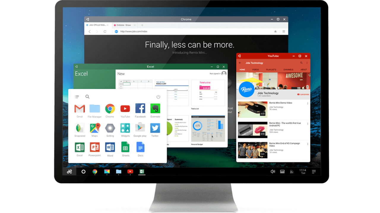 The awesome Android Remix OS will soon breathe life into virtually any old PC