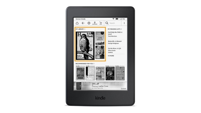 Amazon's Kindles are finally getting a new home screen