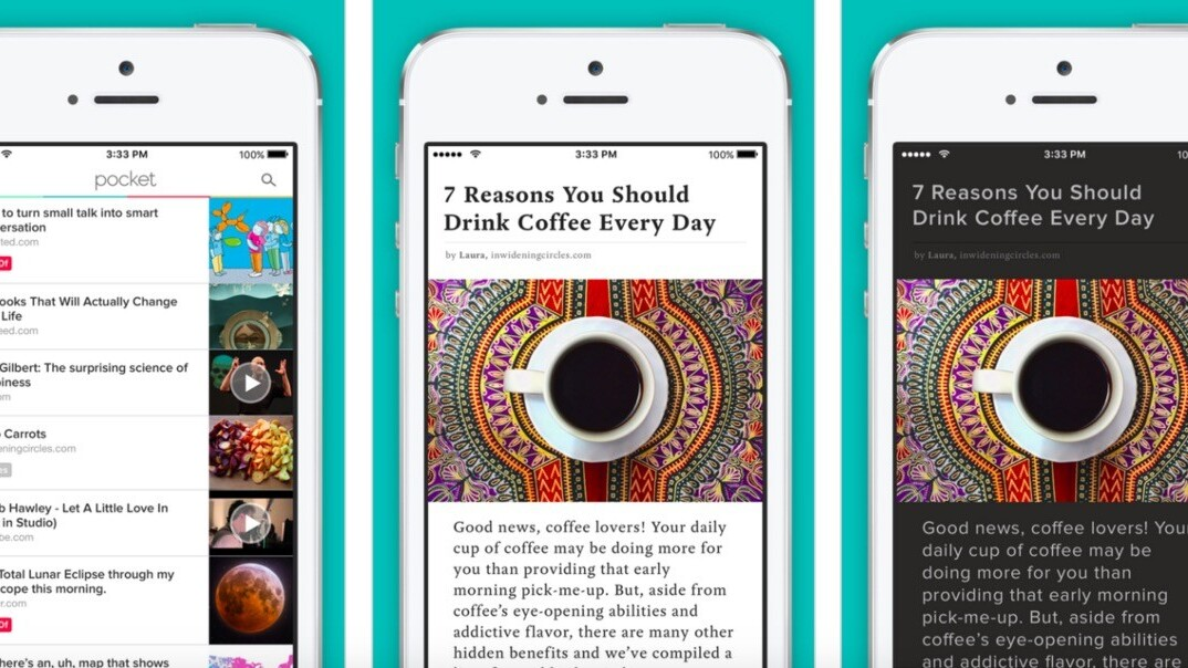 Pocket update on iOS adds custom fonts and support for dyslexic readers