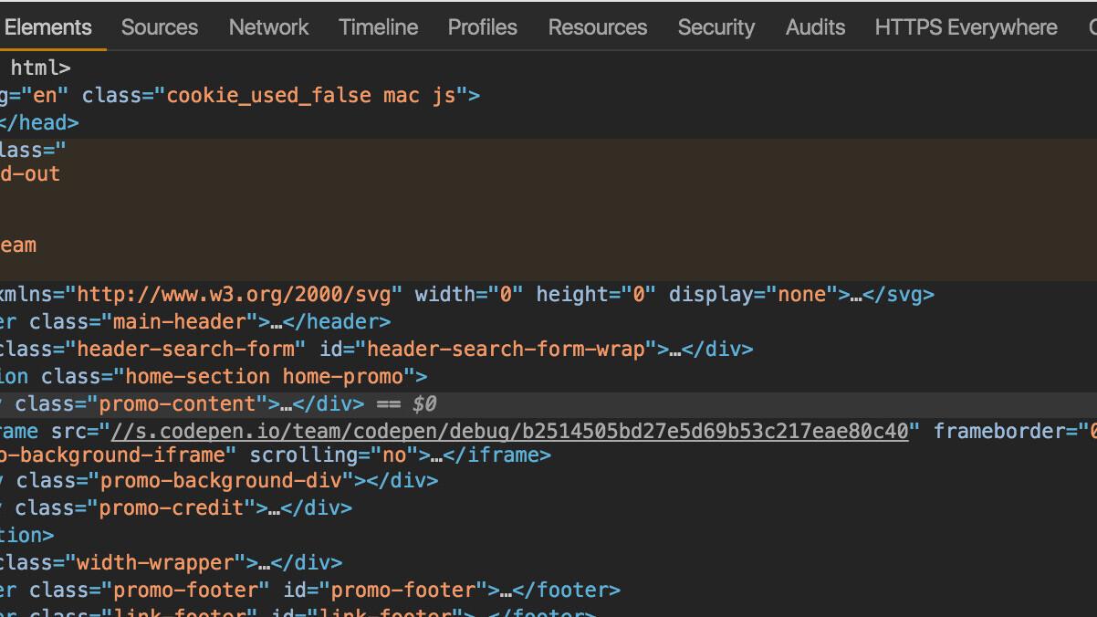 Google Chrome's developer tools are finally getting a dark theme