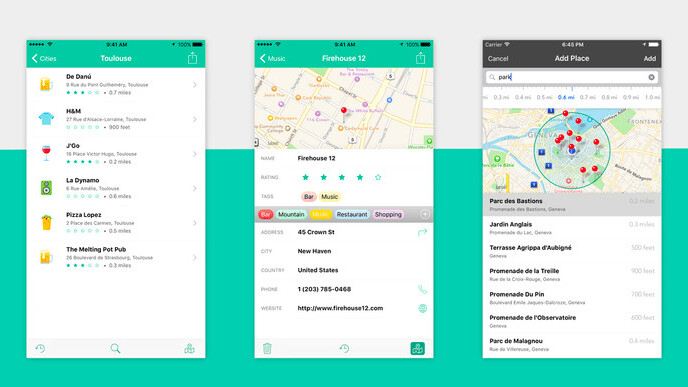 Placeboard makes it easy to remember all the places you want to go