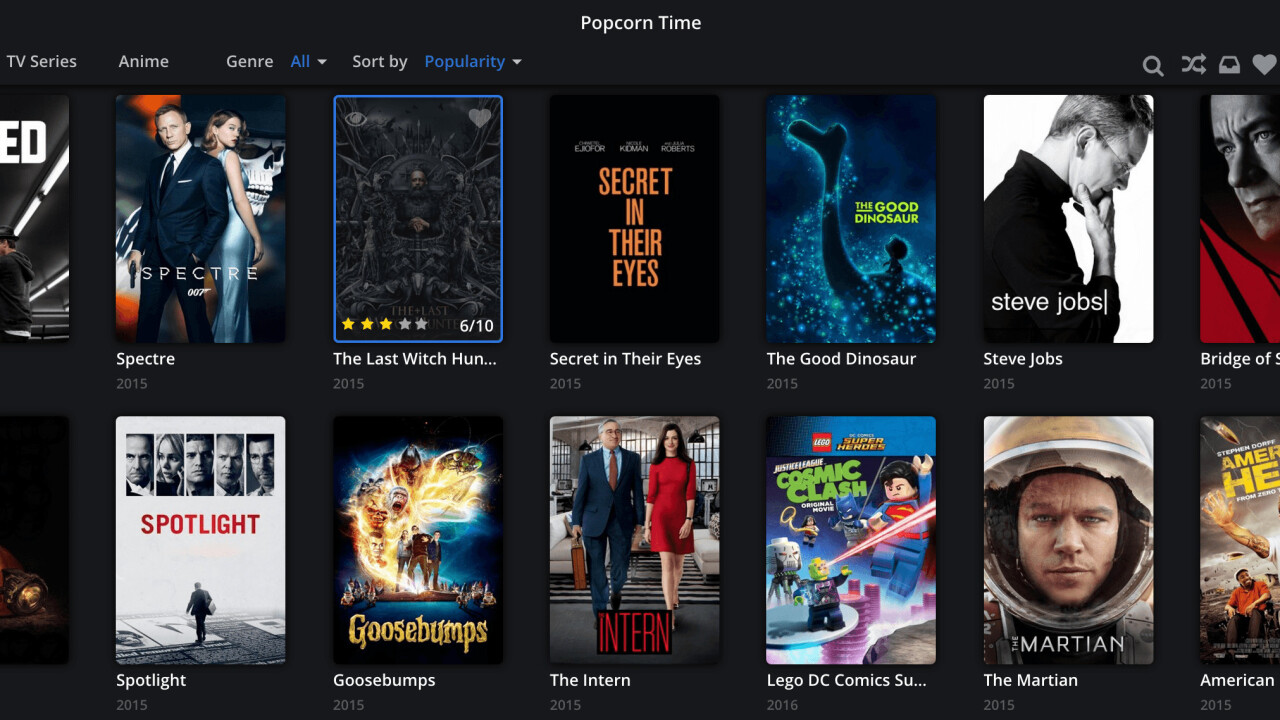 The original Popcorn Time is back from the dead — but nobody knows who's running it