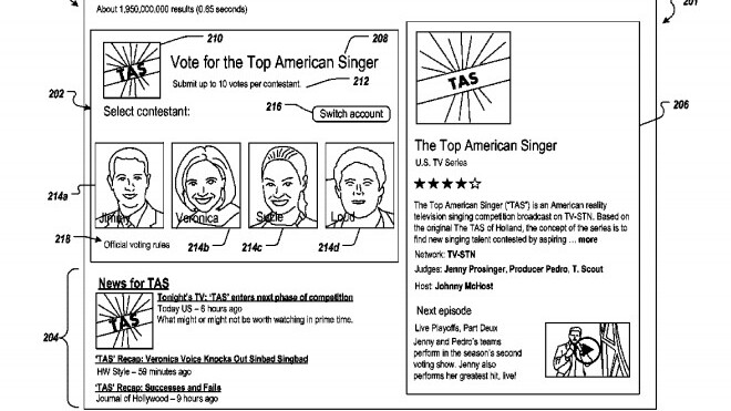 Google just filed a patent to run elections in its search results