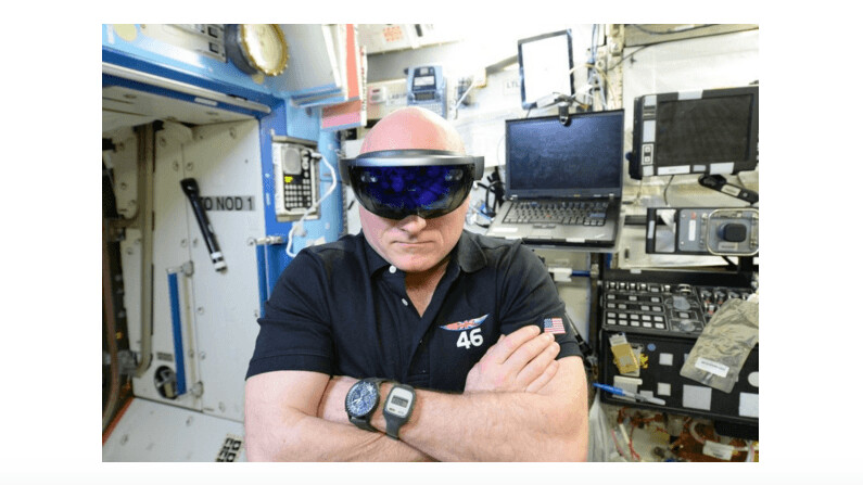 NASA puts Microsoft's HoloLens to work in space