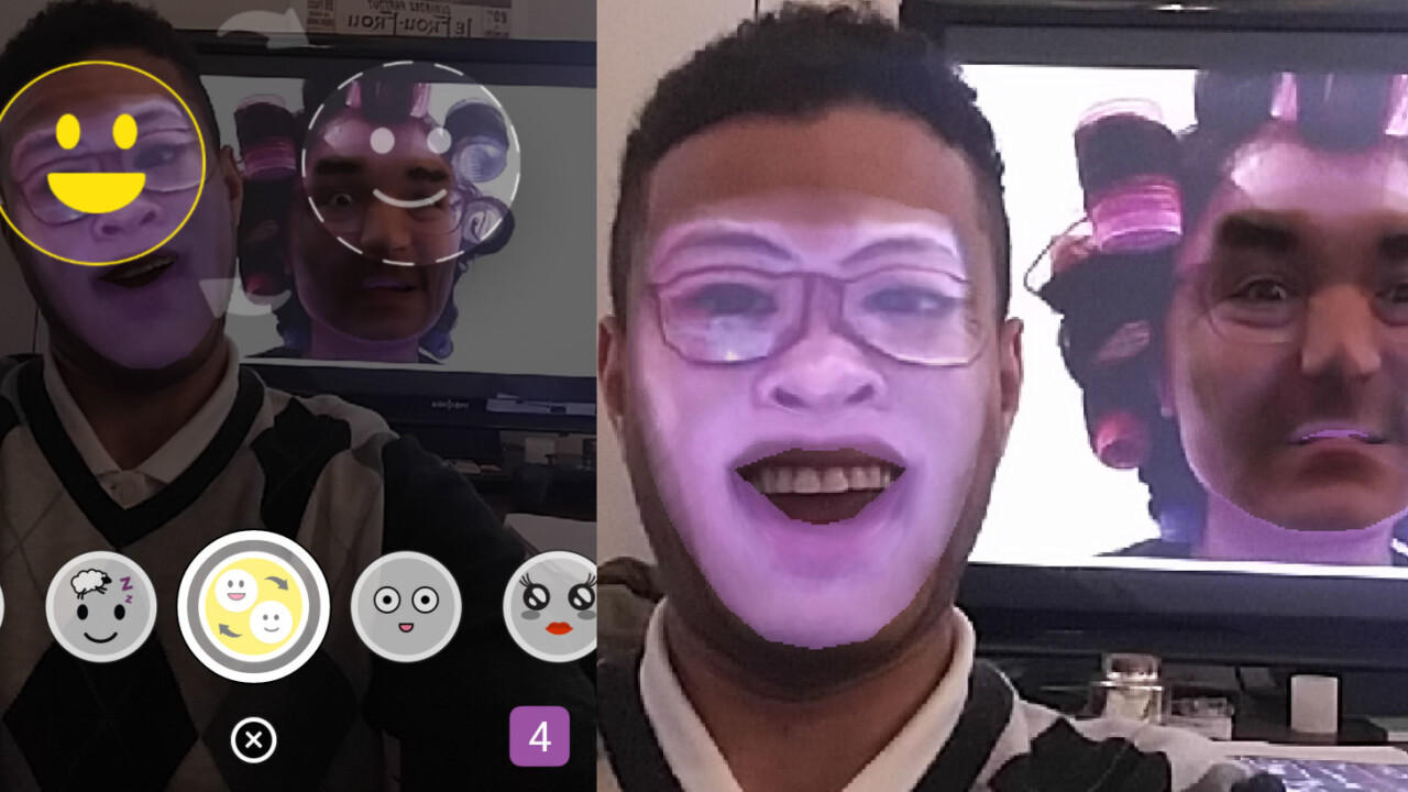 Snapchat's new face swap filter means you'll never sleep again