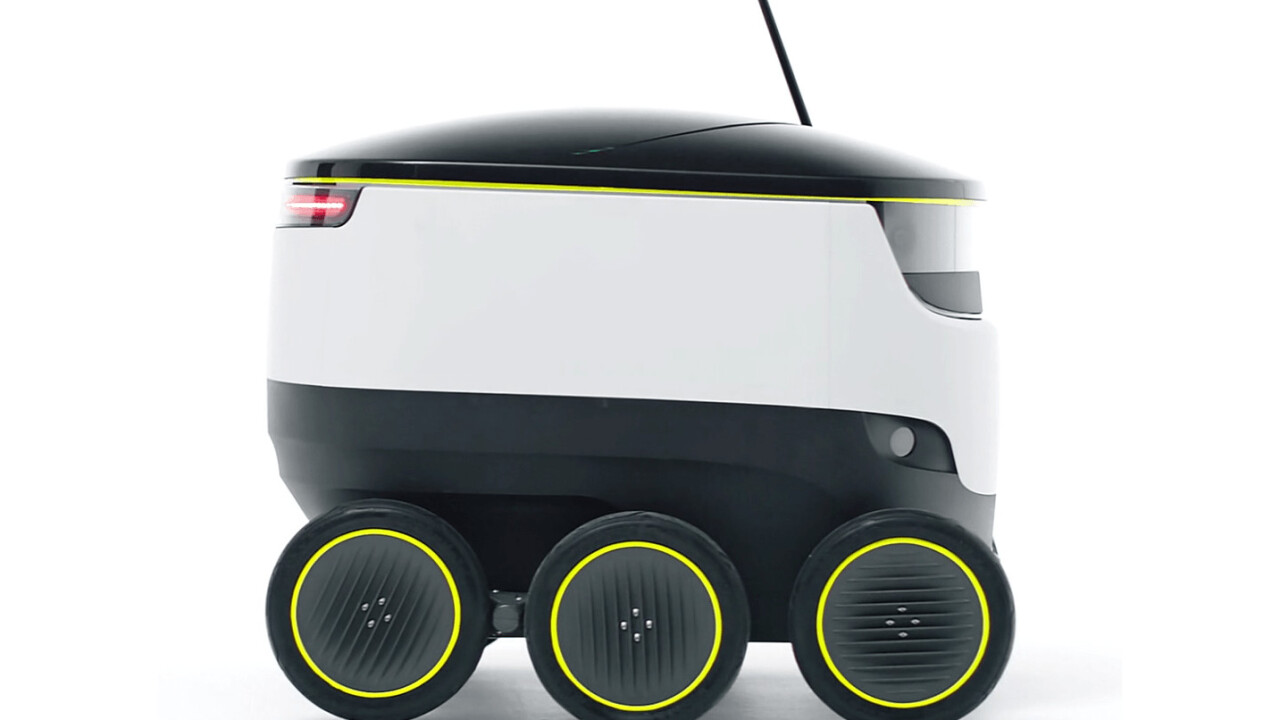 Autonomous delivery robots will soon be roving London's streets