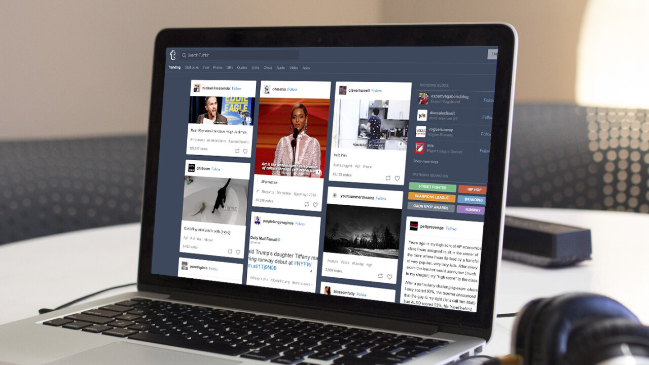 Indonesia reportedly reverses ban on Tumblr after just a day