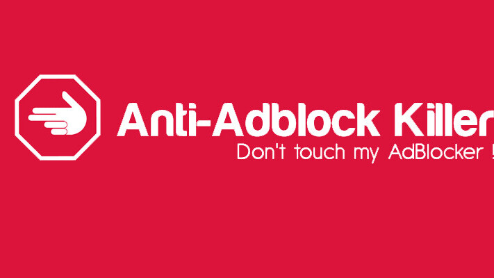 This adblocker-blocker helps you get around sites that ban you for hiding ads ¯\_(ツ)_/¯