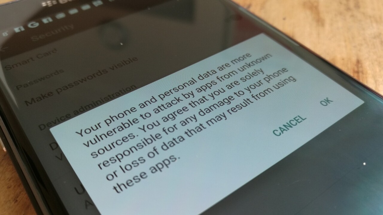 Android malware that can erase devices remotely being used in attacks