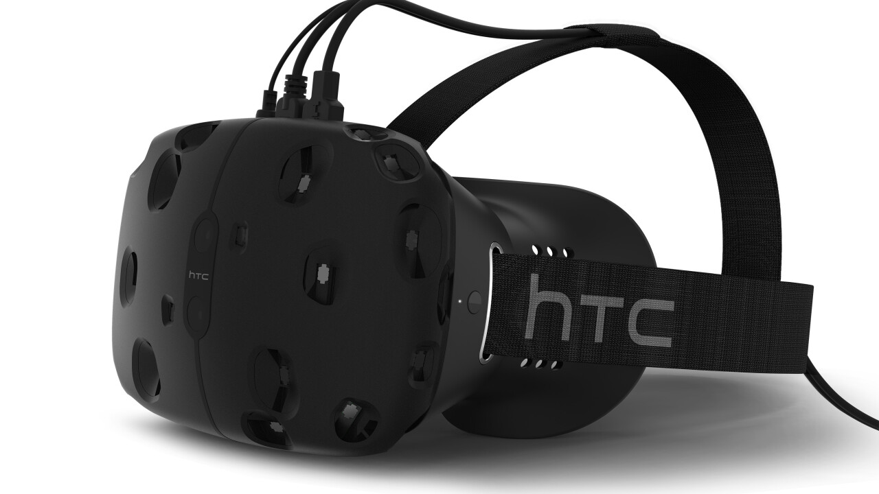 HTC Vive available in April for $799