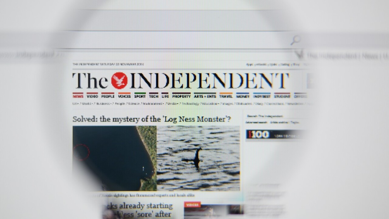 The Independent confirms it's the first UK national newspaper to go online-only