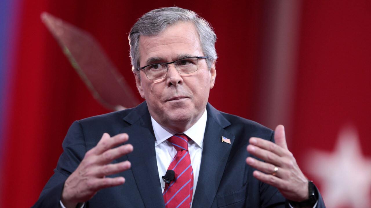 Jeb Bush's pro-gun 'America' tweet is met with responses of Oreos, hotdogs and oppression