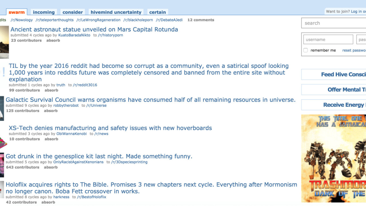 Reddit is not amused by Reddit3016, a spoof site one of its moderators created