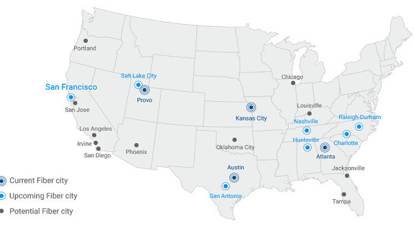 Google Fiber will serve San Francisco with aid of existing infrastructure