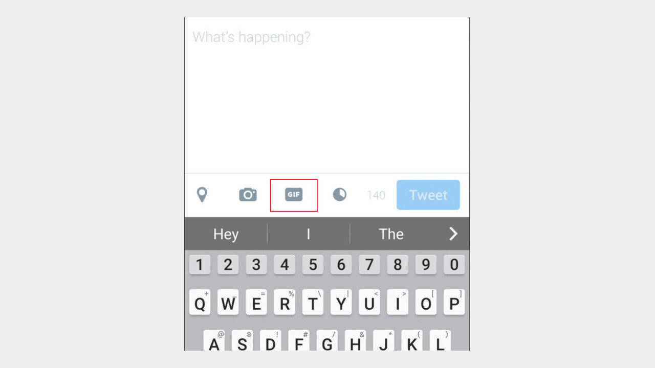 Twitter might be adding a dedicated GIF button very soon