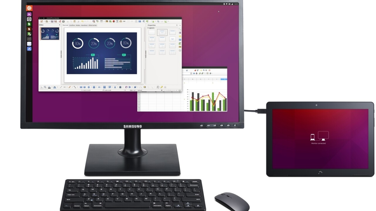 New Ubuntu tablet wants to replace your PC, but eventually your phone will