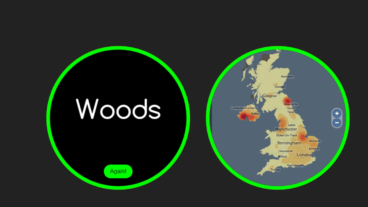This site will guess exactly where in the UK you come from based on your surname