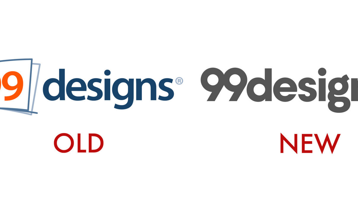 99designs has a new logo (that it got in a meta crowdsourcing contest)