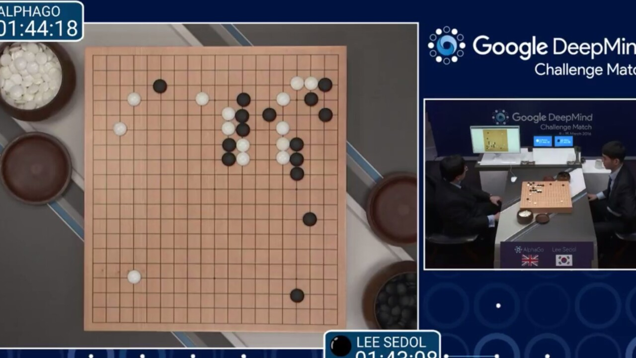 Google's AI just won against a human world champion in a game of Go