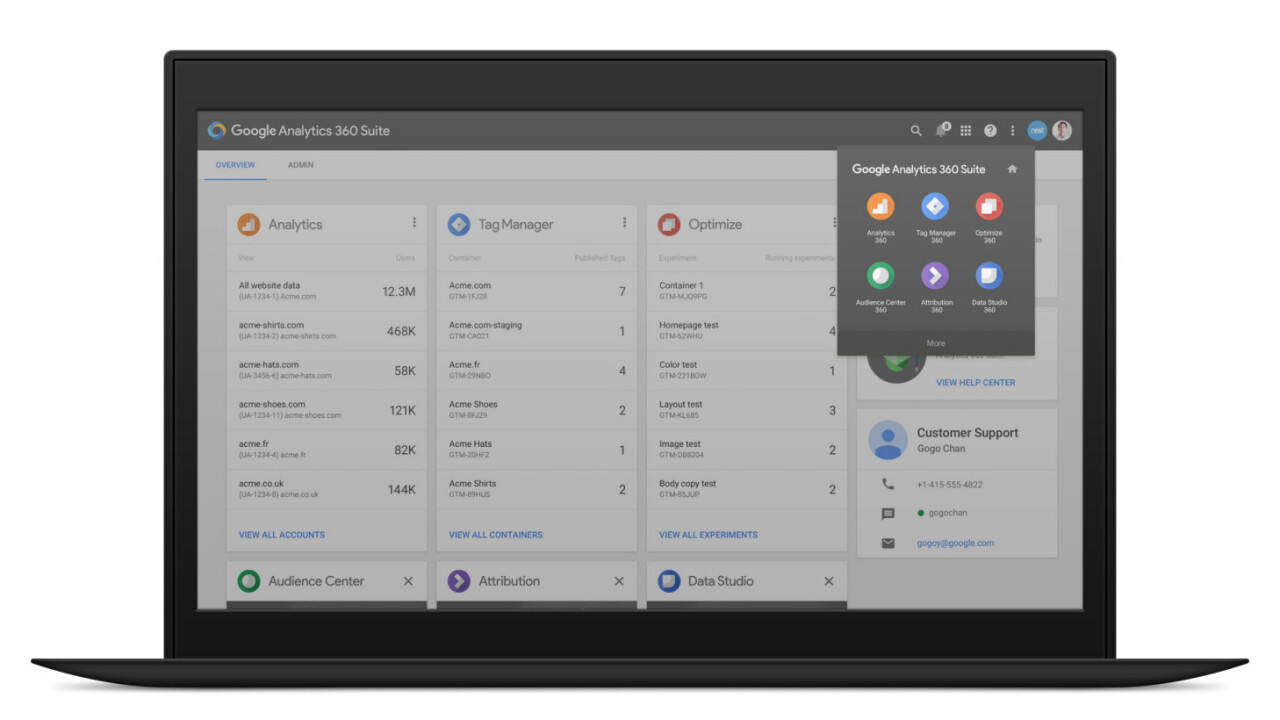 Google has 6 new analytics apps to help marketers mine customer data for insights