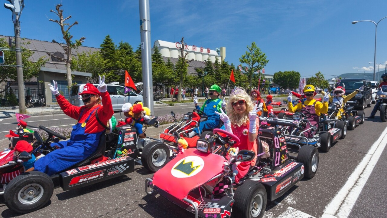 Japan's getting a $350 million Mario theme park attraction, but will it have a Rainbow Road?