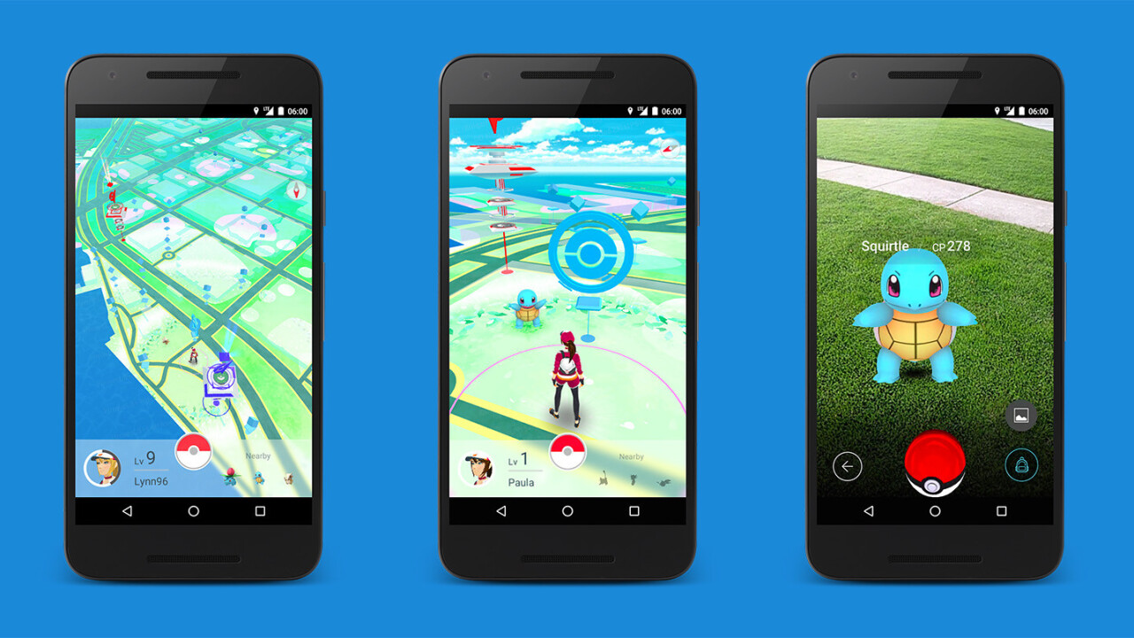 Catch the Pokémon Go AR game on Android and iOS next month