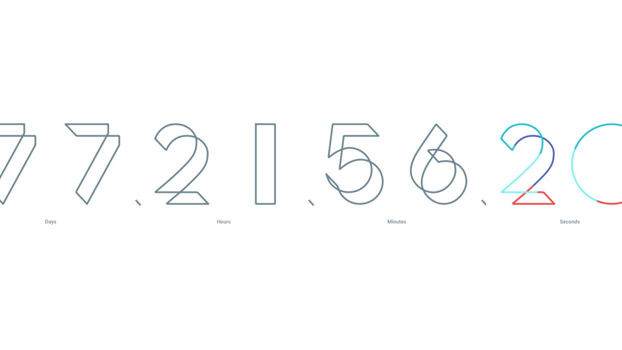 The countdown to Google I/O 2016 has begun, registration opens March 8