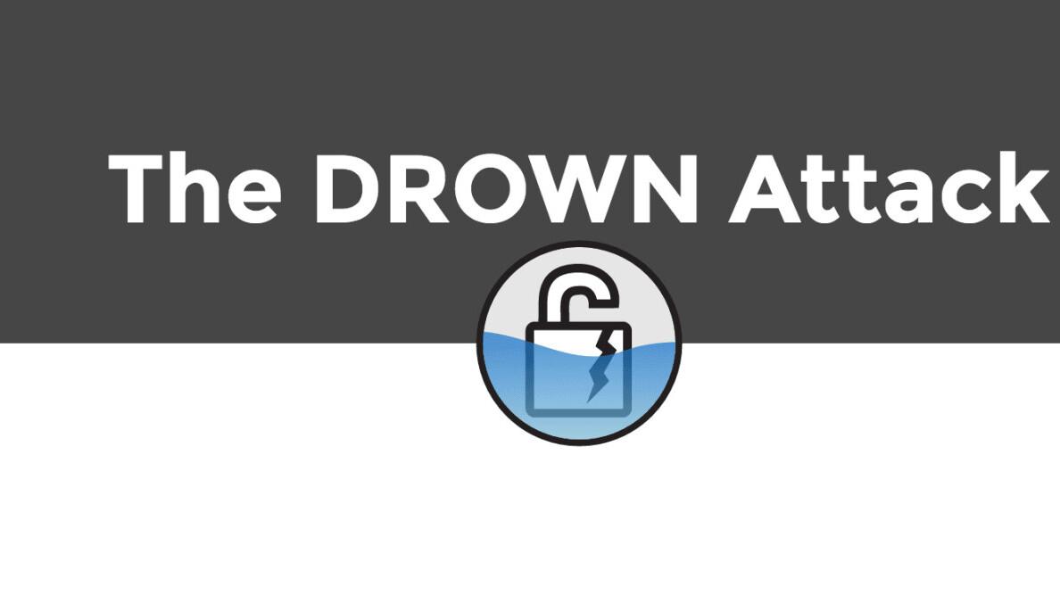 DROWN attack breaks HTTPS on 33% of websites