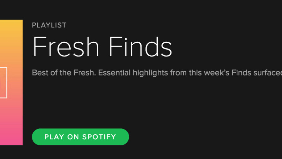 Spotify bets on Discover Weekly's success with 'Fresh Finds'
