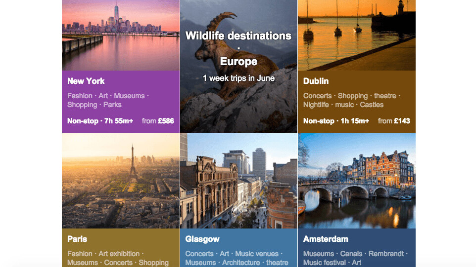 The new 'interests' feature for Google Flights will help you decide where to go next