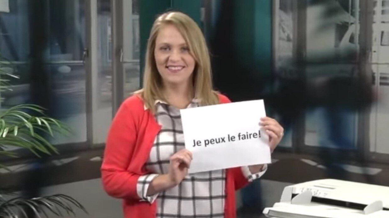 Photocopiers are basically Google Translate IRL now