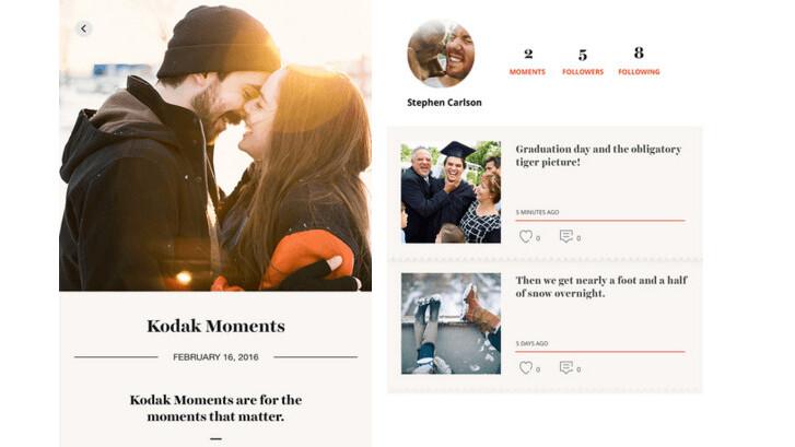 Kodak's beautiful new photo sharing app is like Medium for your memories