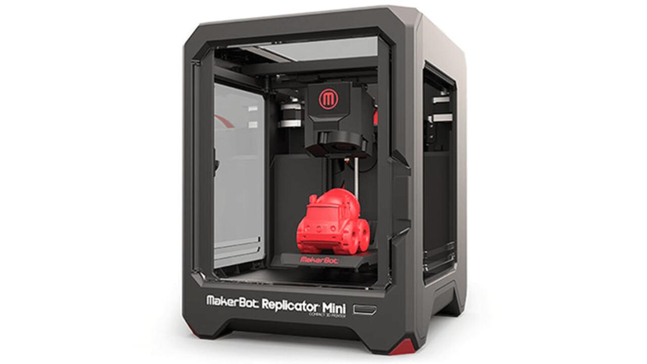 Win a Makerbot Replicator Mini 3D printer!
