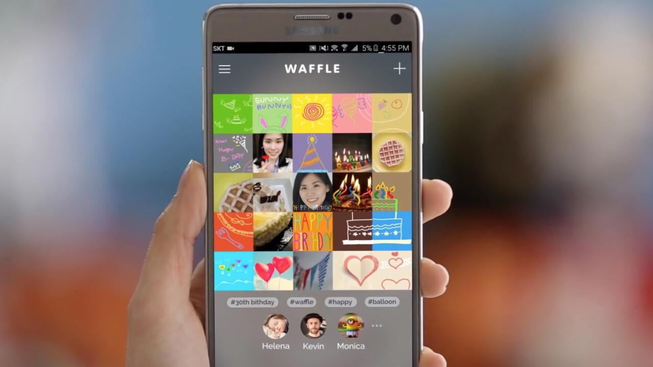Samsung 'Waffle' may be the worst social media concept we've seen yet