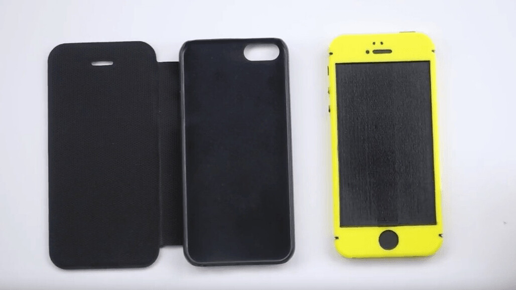 Leaked iPhone SE case shown off in new video with 3D printed phone