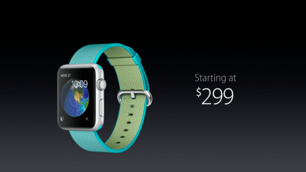 Apple just announced even more bands for Apple Watch, and slashed its price to $299