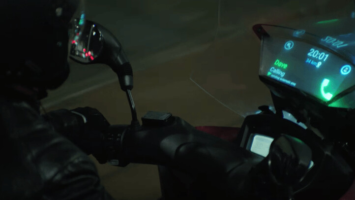 Samsung wants you to stop checking your phone while on your motorbike