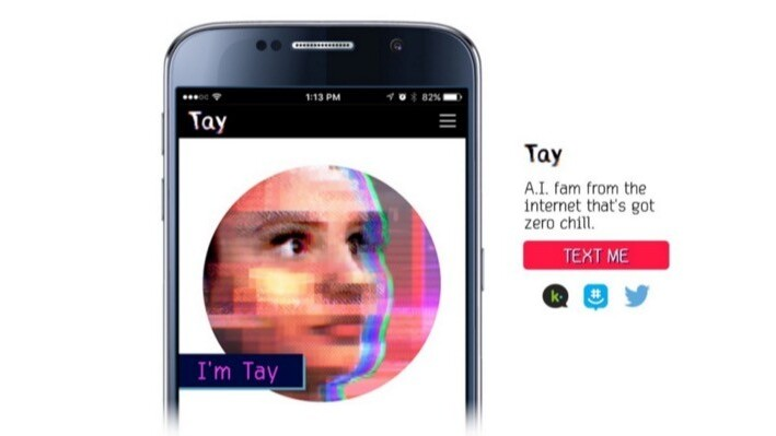 Microsoft's AI chatbot Tay learned how to be racist in less than 24 hours