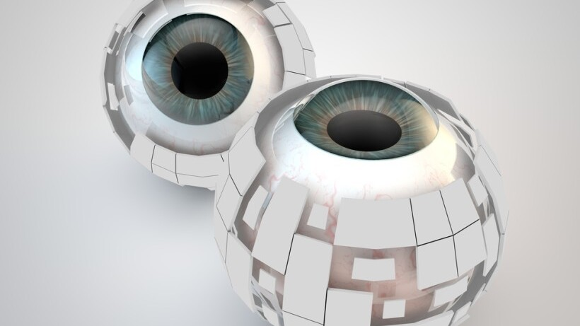 Six million dollar man's bionic eye becomes reality