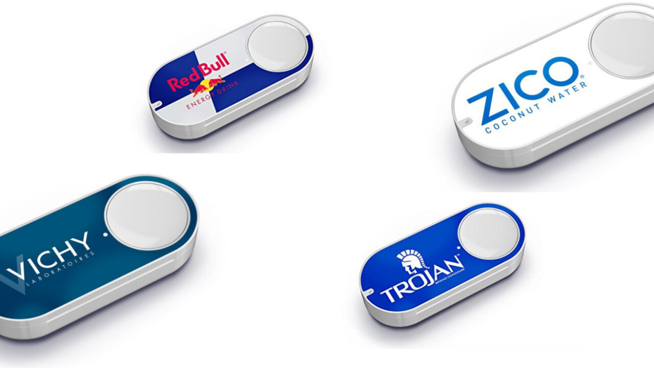 Amazon just added a ton of new Dash buttons, and they're bougie AF