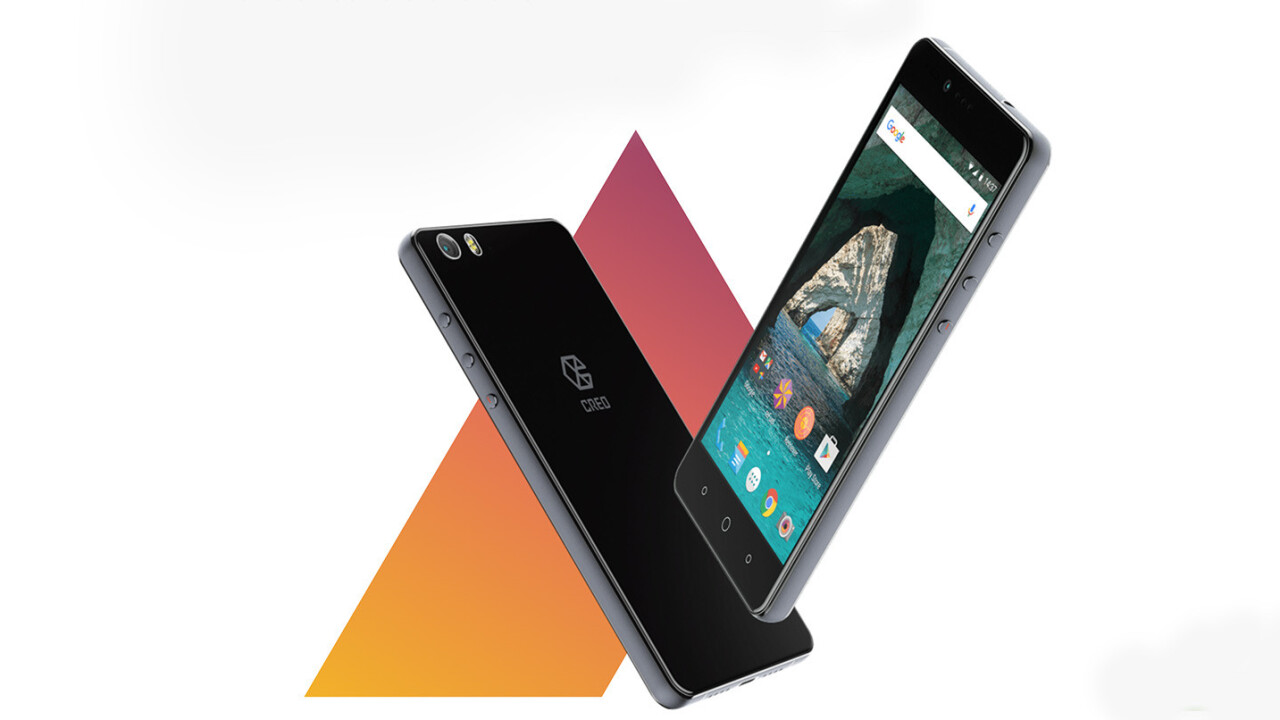 CREO wants to take on Android flagships with its $300 Mark 1 smartphone