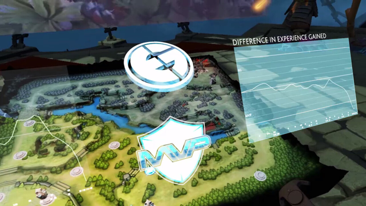 See how amazing it is to watch DOTA 2 games in VR