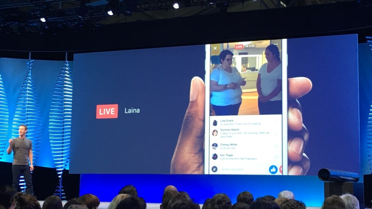 Facebook is taking on Periscope with new live video hub and API