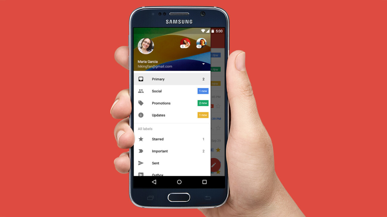 Gmail now supports Microsoft Exchange accounts on Android